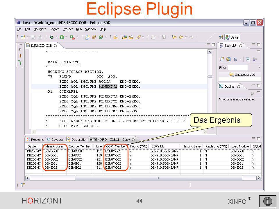 Eclipse Plugin Das Ergebnis