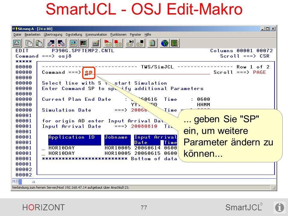 SmartJCL - OSJ Edit-Makro