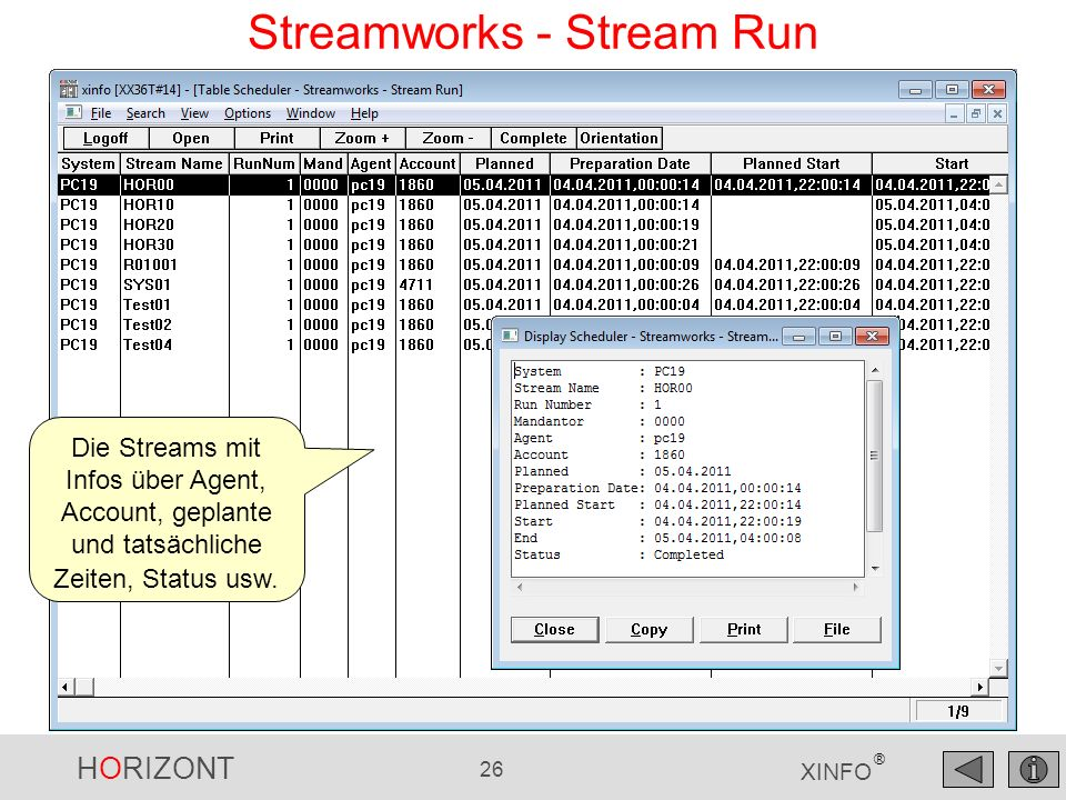 Streamworks - Stream Run