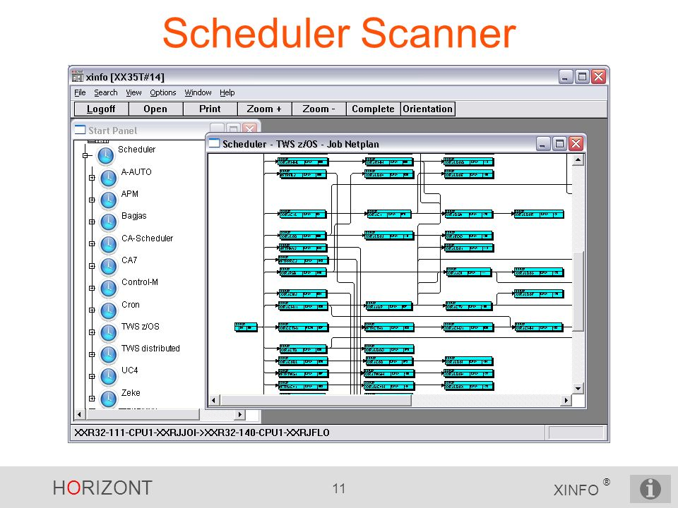 Scheduler Scanner