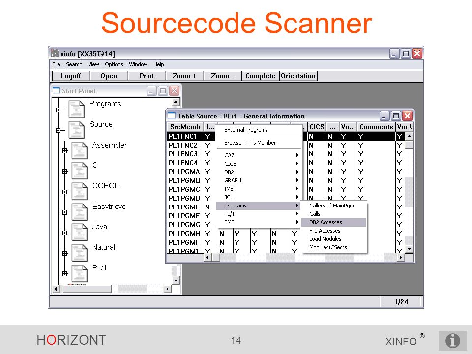 Sourcecode Scanner