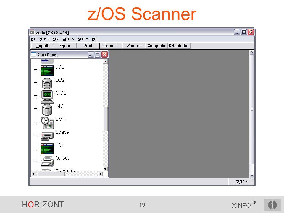 z/OS Scanner