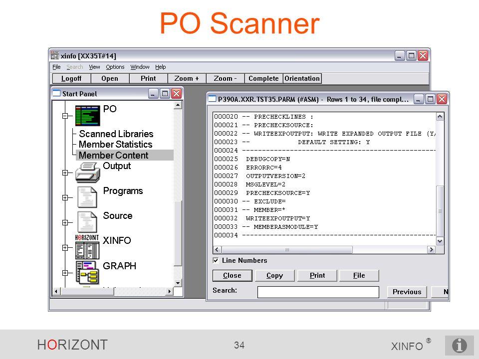 PO Scanner