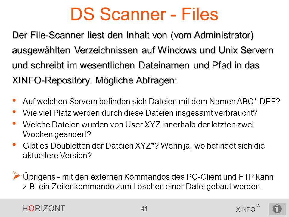 DS Scanner - Files