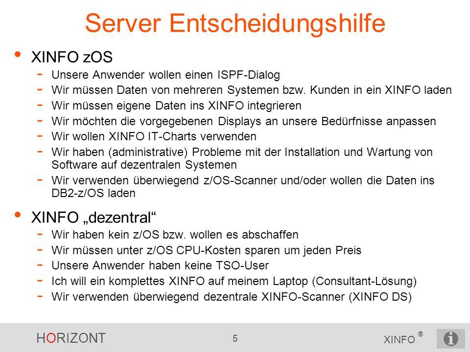 Server Entscheidungshilfe