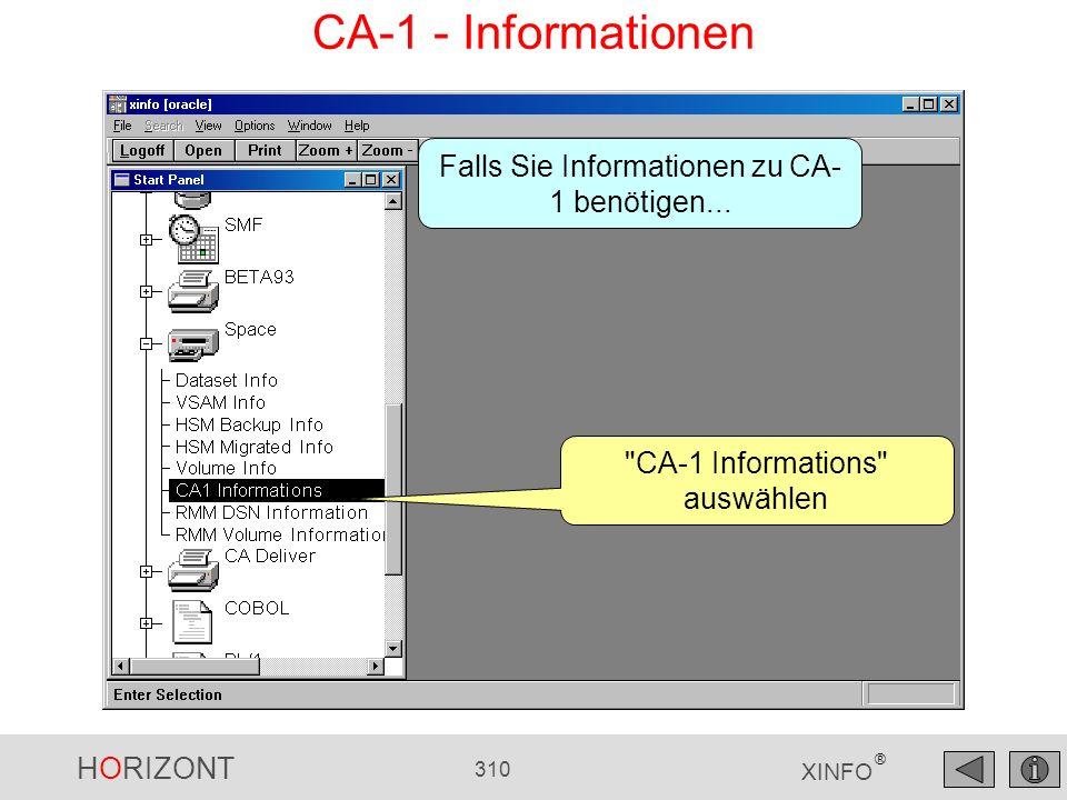 CA-1 - Informationen Falls Sie Informationen zu CA-1 benötigen...