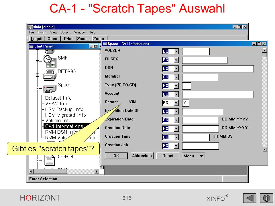 CA-1 - Scratch Tapes Auswahl