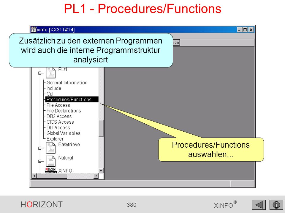 PL1 - Procedures/Functions