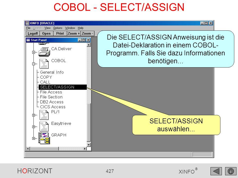 SELECT/ASSIGN auswählen...