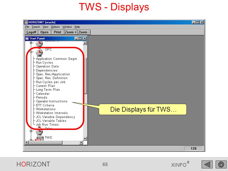 TWS - Displays Die Displays für TWS…