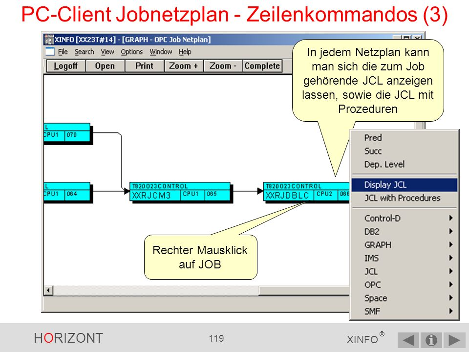 PC-Client Jobnetzplan - Zeilenkommandos (3)