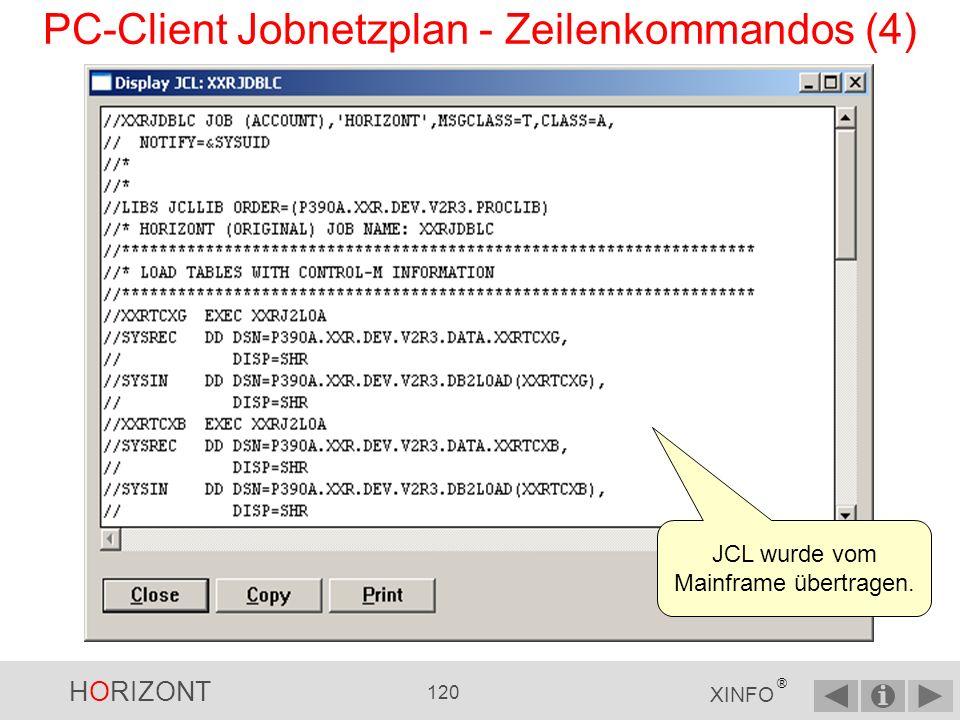 PC-Client Jobnetzplan - Zeilenkommandos (4)