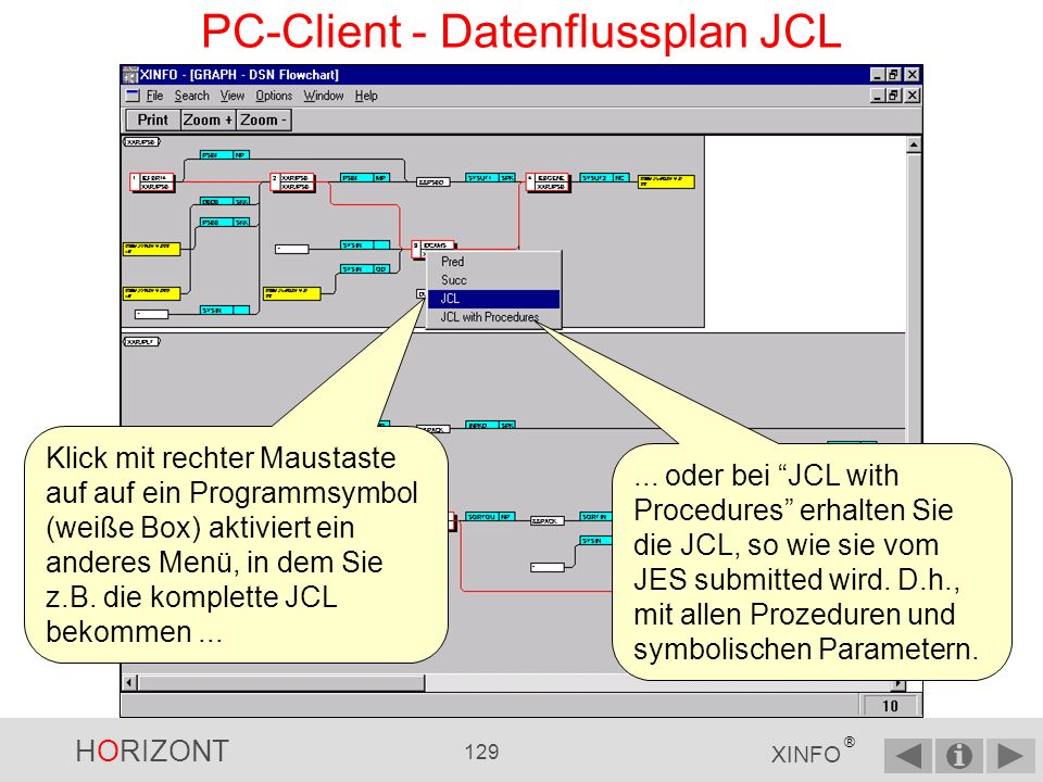 PC-Client - Datenflussplan JCL