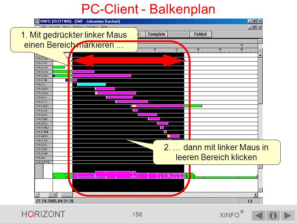 PC-Client - Balkenplan