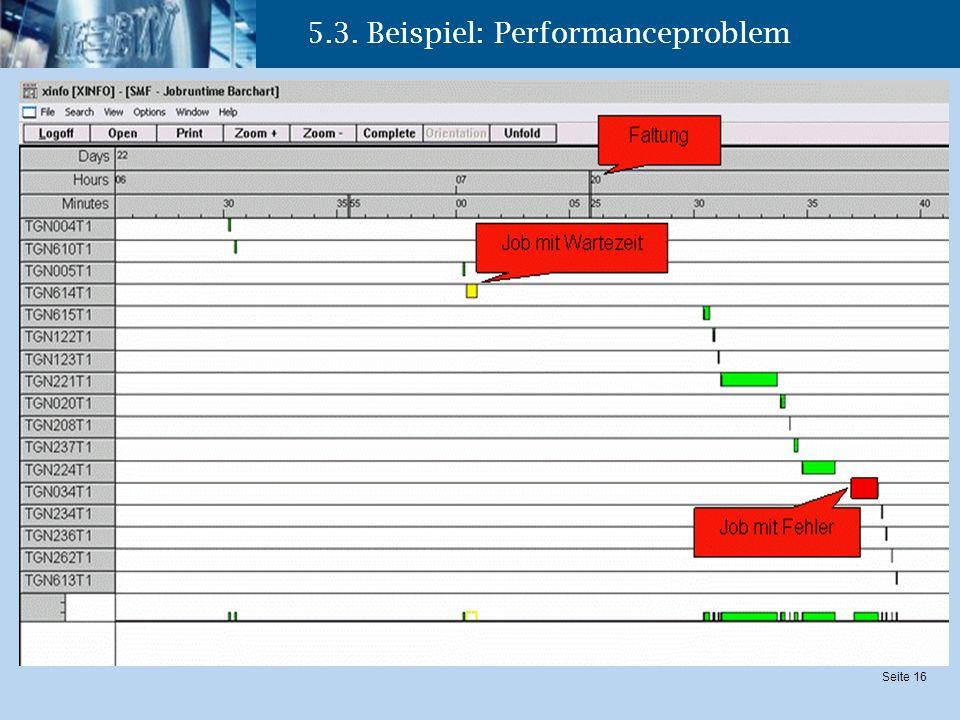 5.3. Beispiel: Performanceproblem