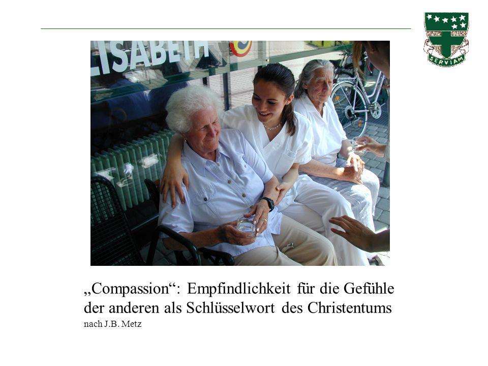 """""""Compassion : Empfindlichkeit für die Gefühle der anderen als Schlüsselwort des Christentums"""
