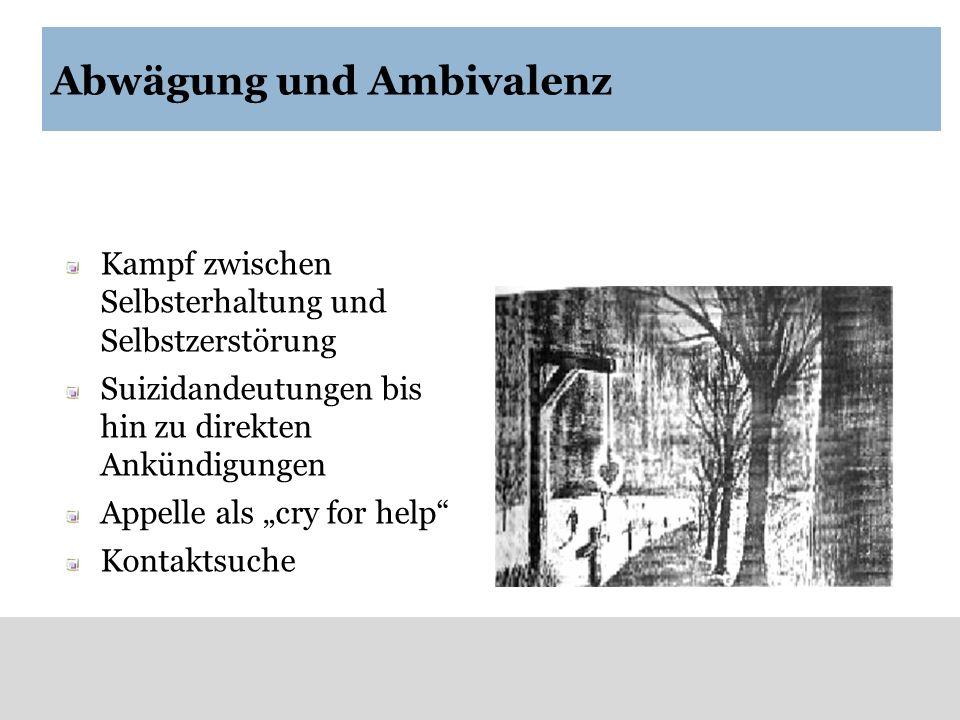 Abwägung und Ambivalenz