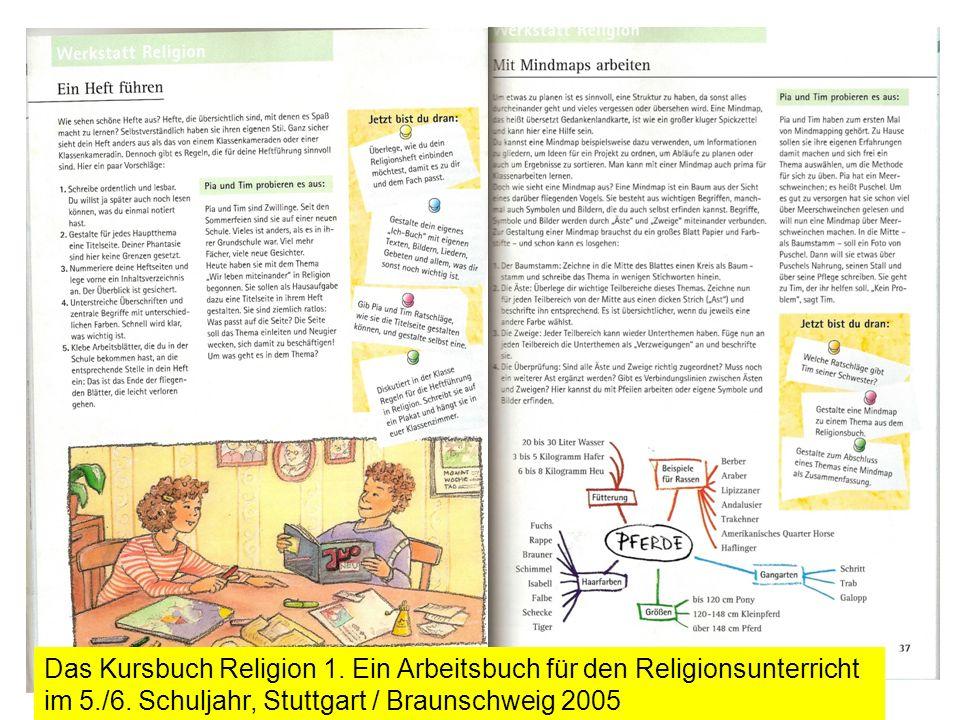 Das Kursbuch Religion 1. Ein Arbeitsbuch für den Religionsunterricht im 5./6.