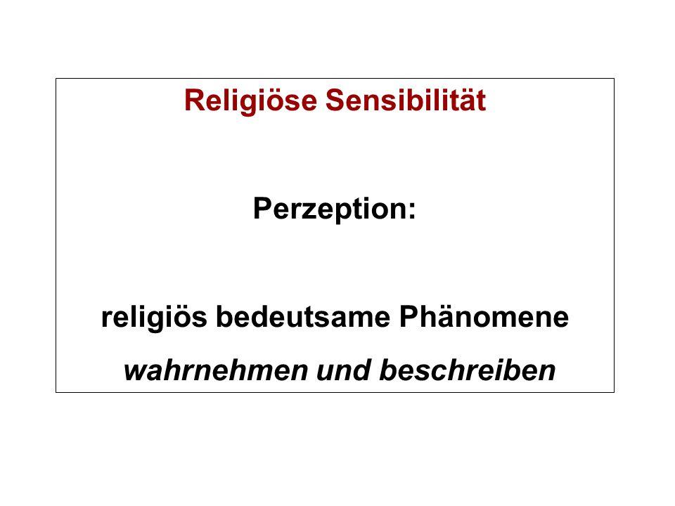 Religiöse Sensibilität