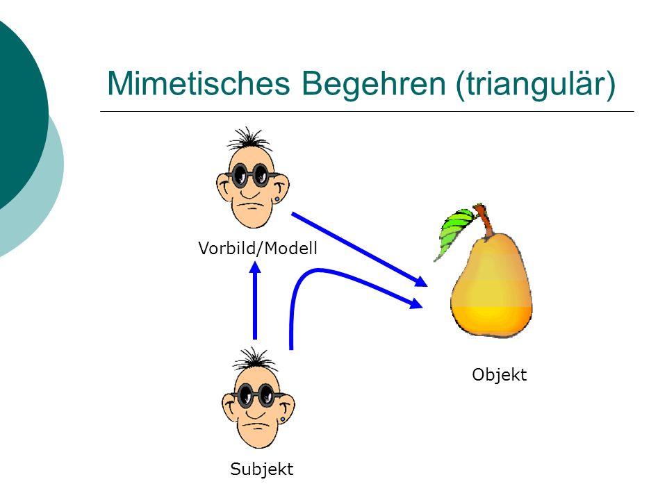 Mimetisches Begehren (triangulär)