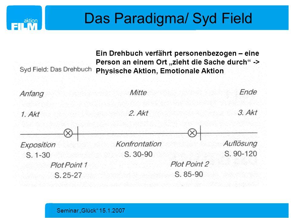 Das Paradigma/ Syd Field