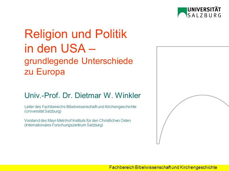Religion und Politik in den USA – grundlegende Unterschiede zu Europa