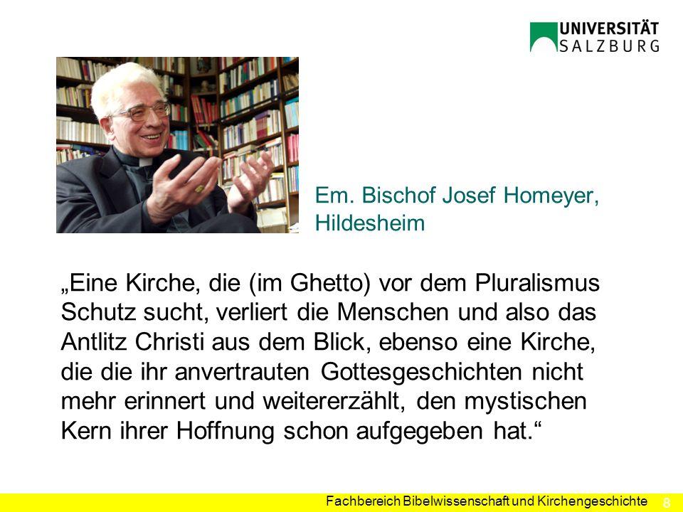 Em. Bischof Josef Homeyer, Hildesheim