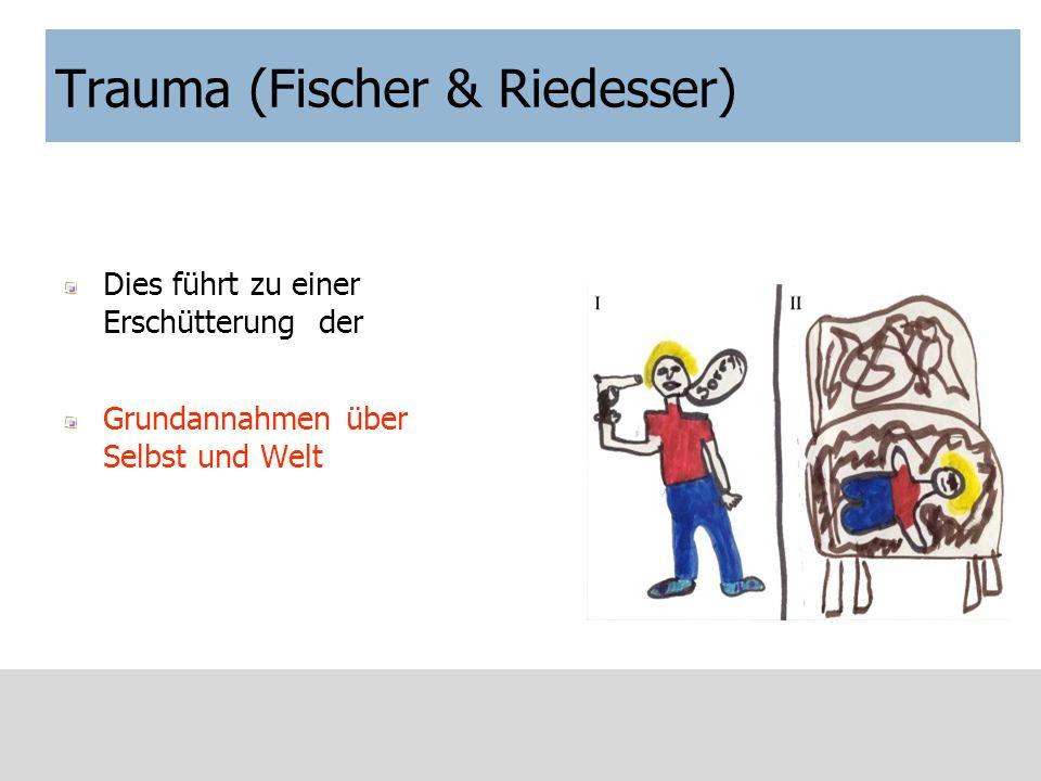Trauma (Fischer & Riedesser)