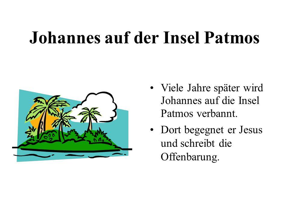 Johannes auf der Insel Patmos