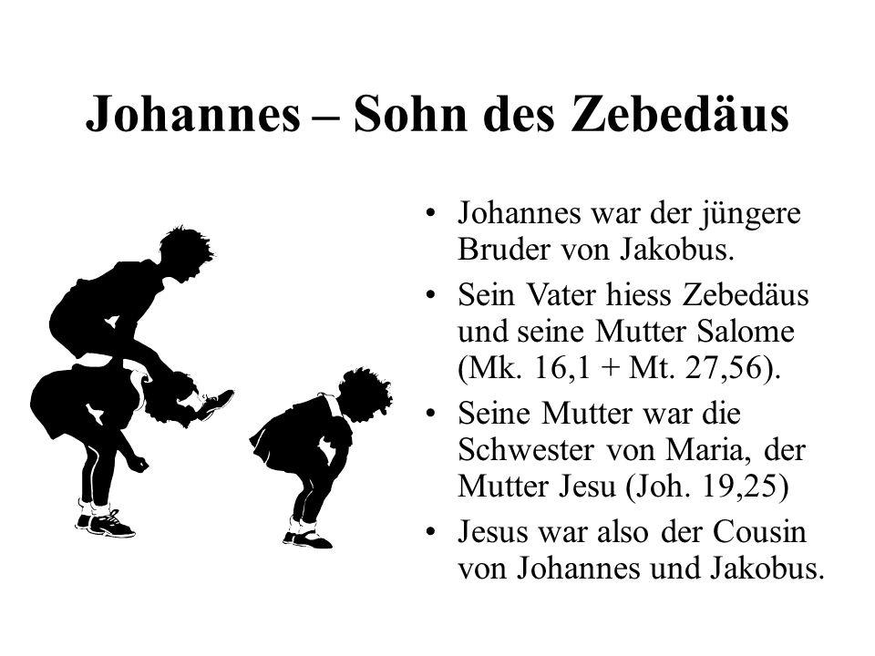 Johannes – Sohn des Zebedäus