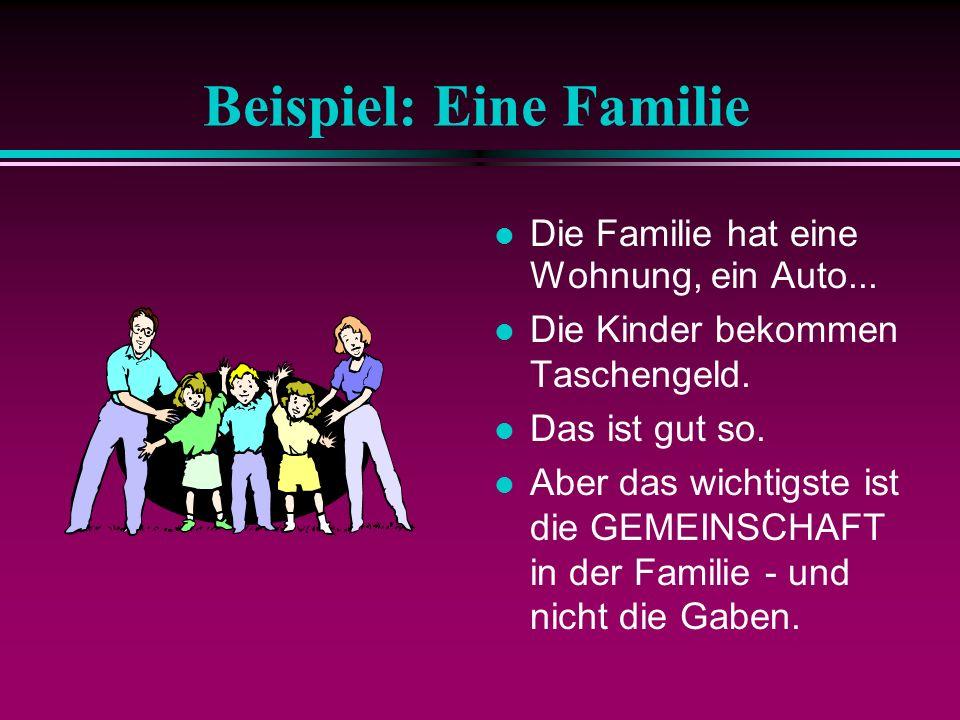Beispiel: Eine Familie