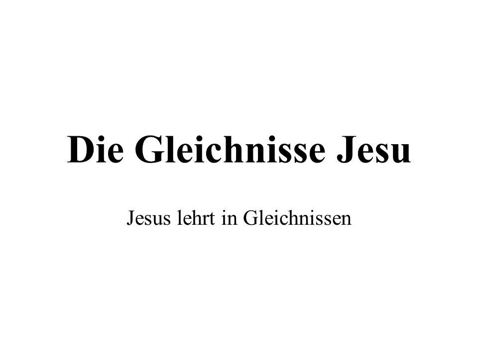 Jesus lehrt in Gleichnissen