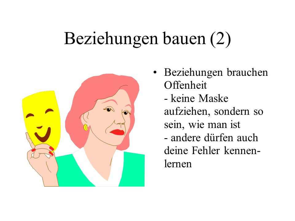 Beziehungen bauen (2)