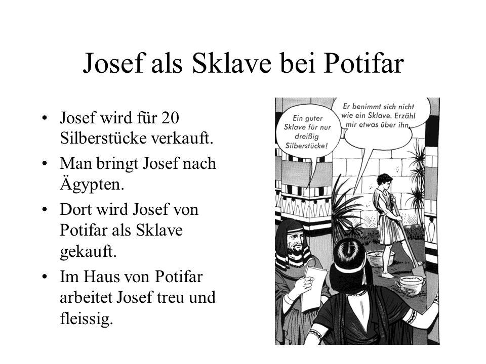 Josef als Sklave bei Potifar