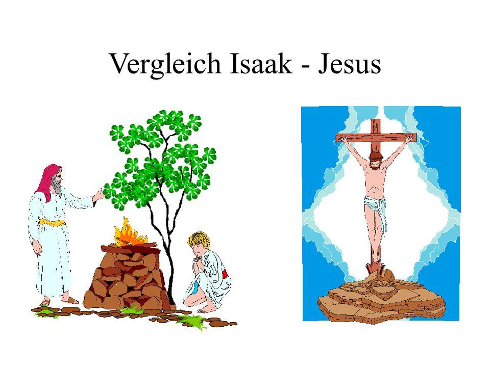 Vergleich Isaak - Jesus