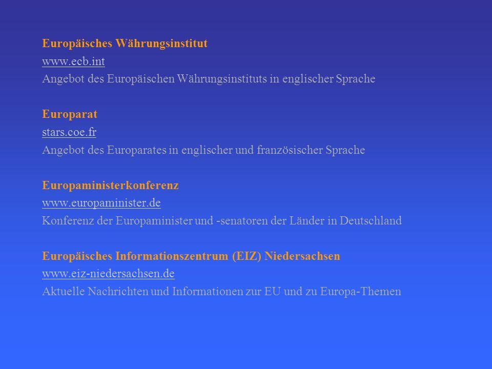 Europäisches Währungsinstitut