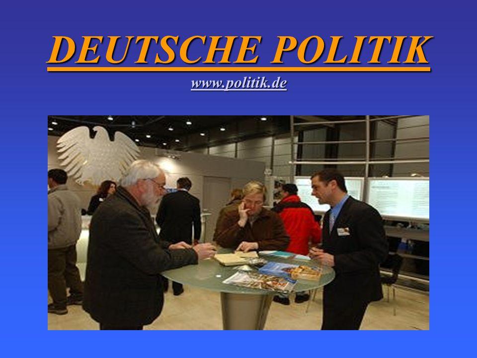 DEUTSCHE POLITIK www.politik.de
