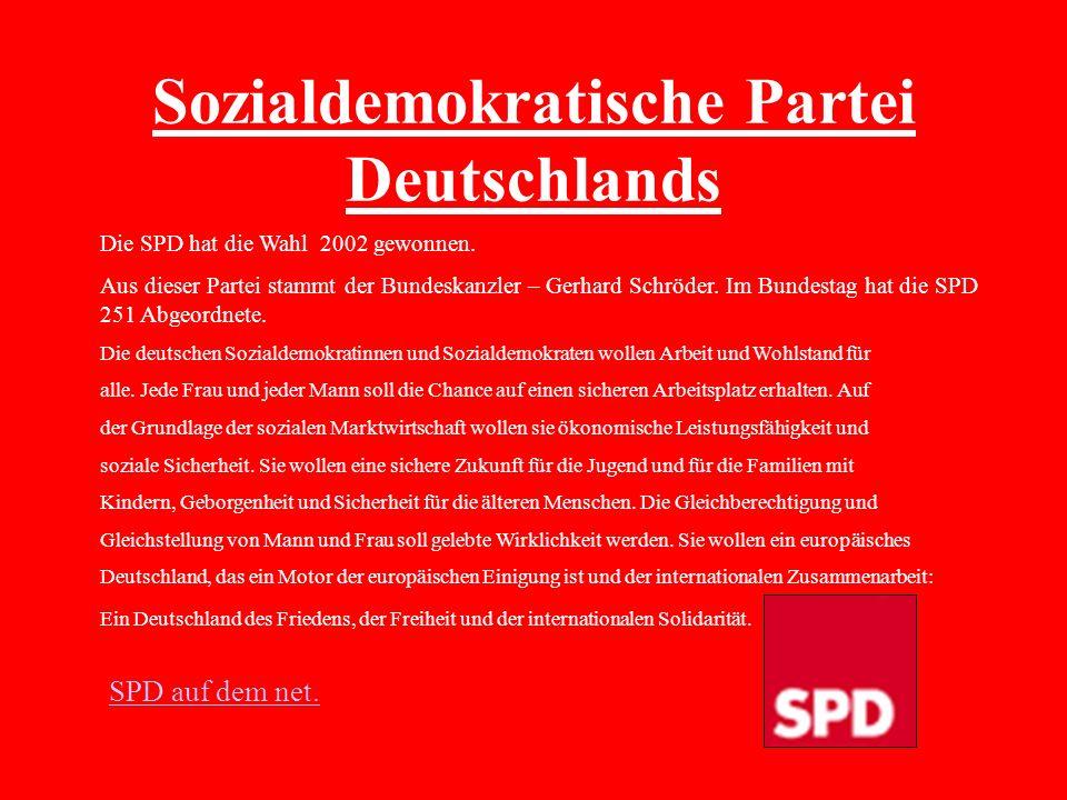 Sozialdemokratische Partei Deutschlands