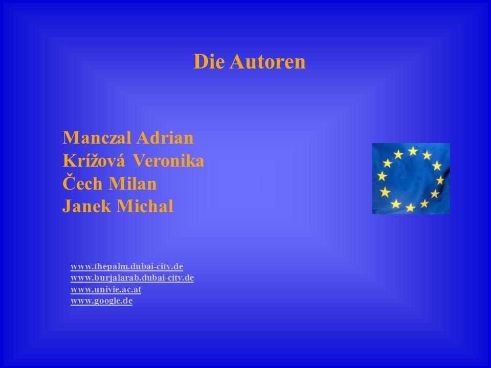 Die Autoren Manczal Adrian Krížová Veronika Čech Milan Janek Michal