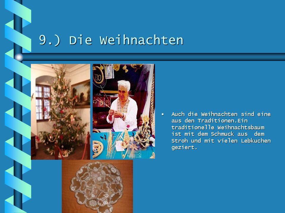 9.) Die Weihnachten