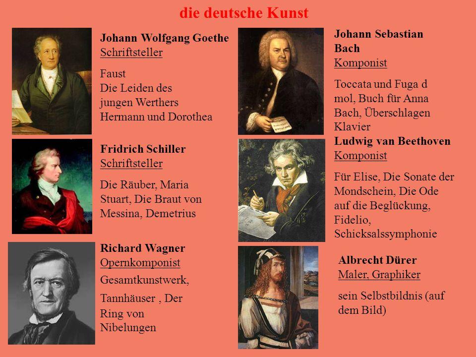 die deutsche Kunst Johann Sebastian Bach Komponist