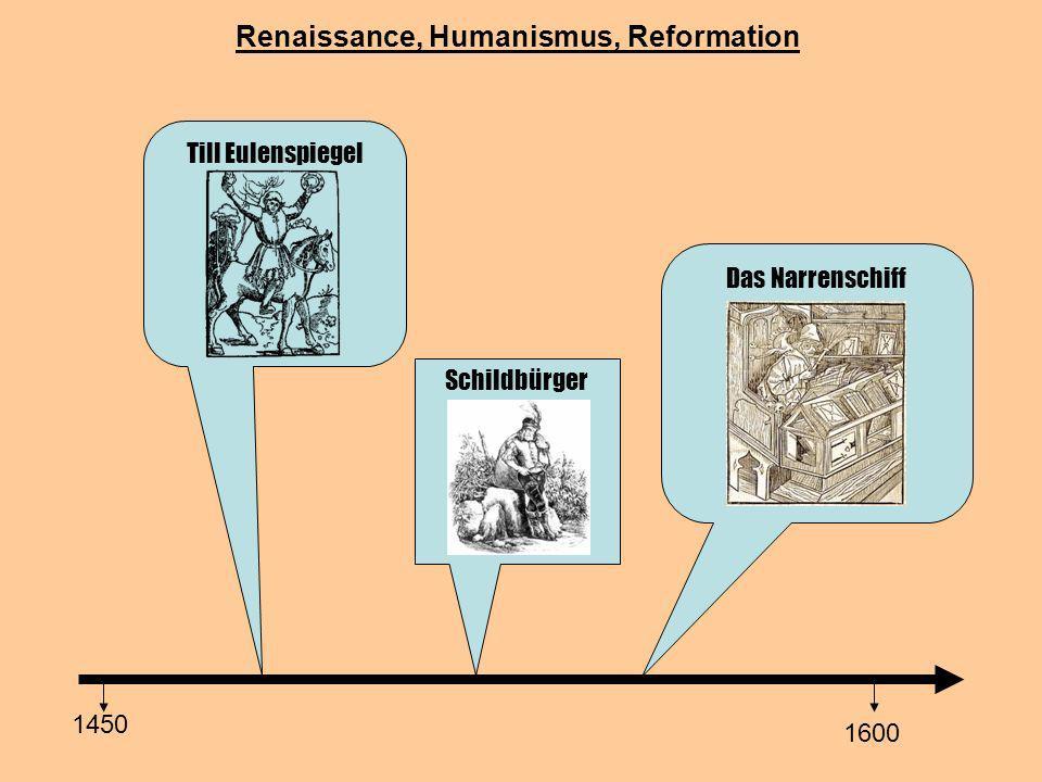 Renaissance, Humanismus, Reformation