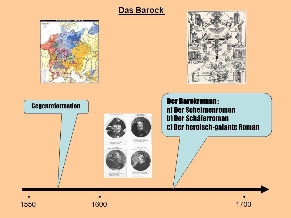 Das Barock Der Barokroman : a) Der Schelmenroman b) Der Schäferroman