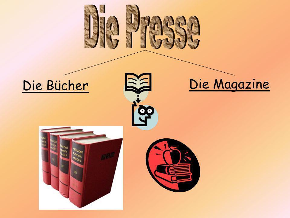 Die Presse Die Bücher Die Magazine