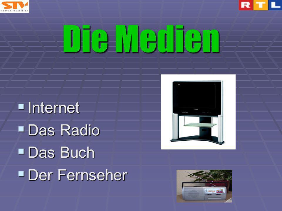 Die Medien Internet Das Radio Das Buch Der Fernseher