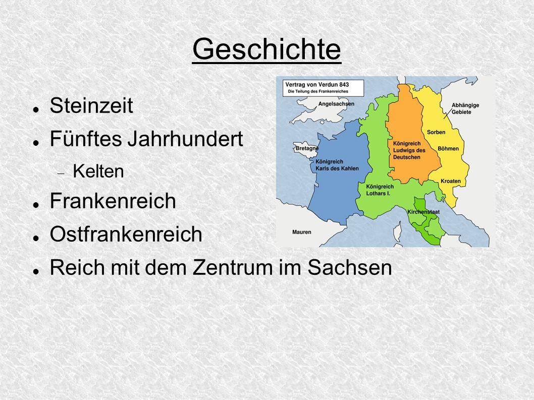 Geschichte Steinzeit Fünftes Jahrhundert Frankenreich Ostfrankenreich