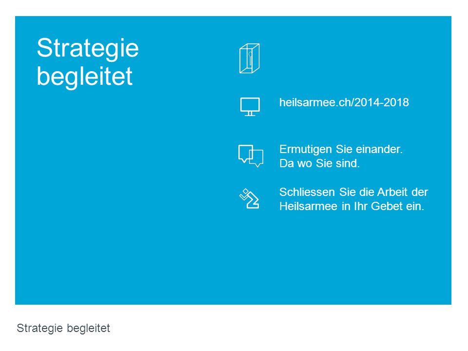 Strategie begleitet heilsarmee.ch/2014-2018