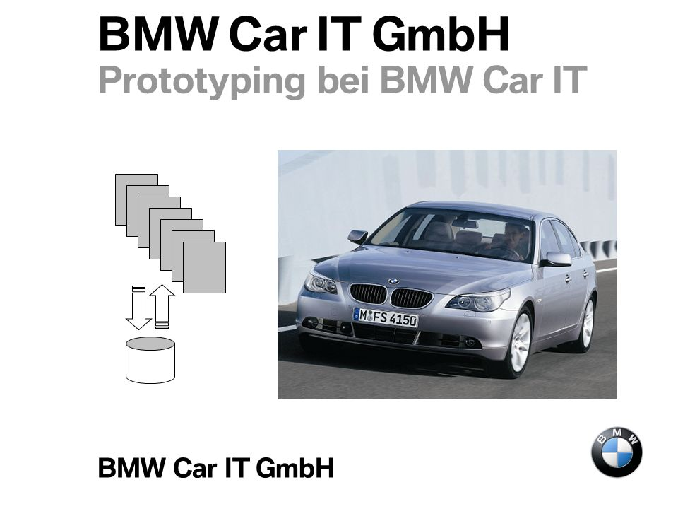 BMW Car IT GmbH Prototyping bei BMW Car IT