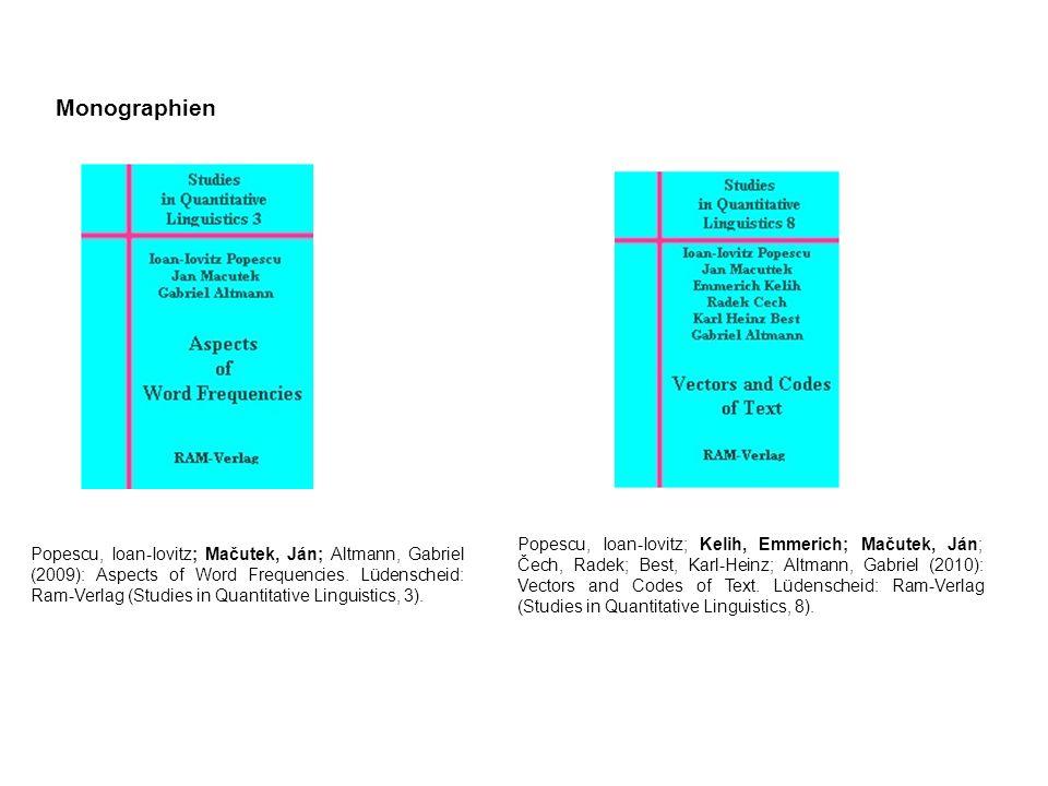 Monographien