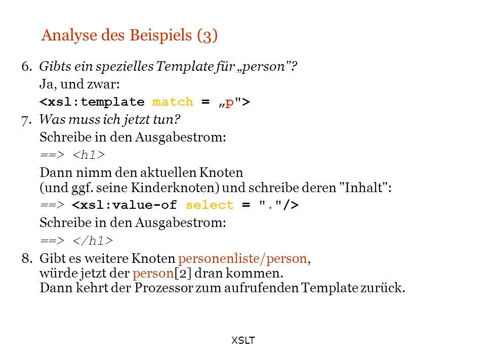 Analyse des Beispiels (3)